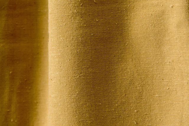うなぎの寝床 久留米絣もんぺ 無地 厚手【アースカラー マスタード】 送料無料