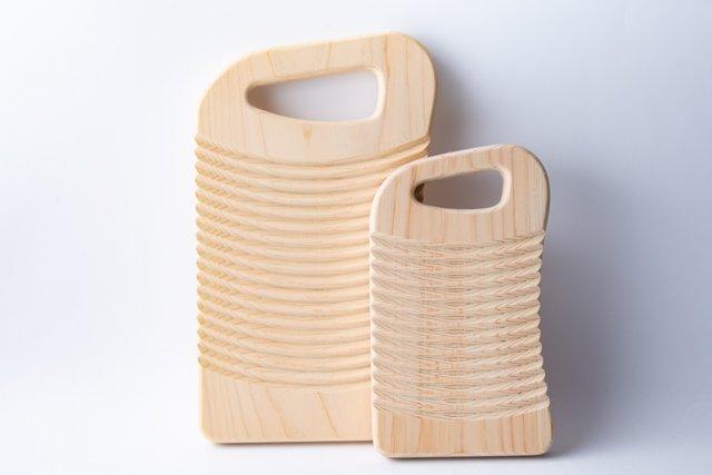 福井賢治【woodpecker】ひのきの洗濯板 小