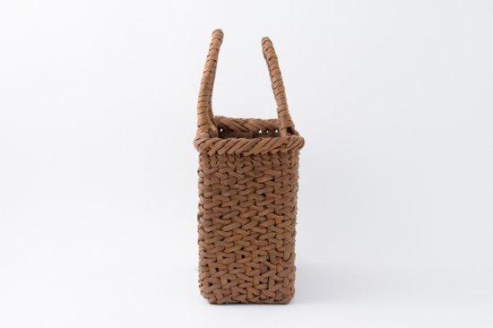 山葡萄かごバッグ 国産 日本製 手提げ中2 内布付 手編み