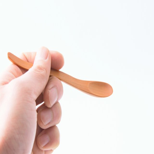 白井裕喜 ティースプーン 木製 ブラックチェリー メール便対応