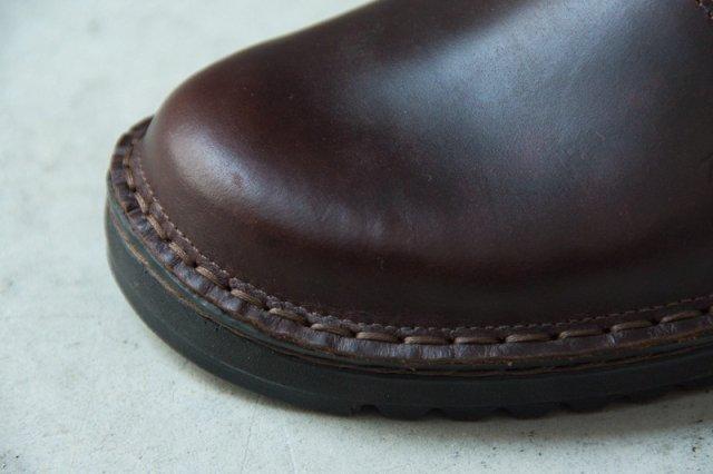 NAOT OLGA オルガ ストラップシューズ Buffalo Leather(赤茶)