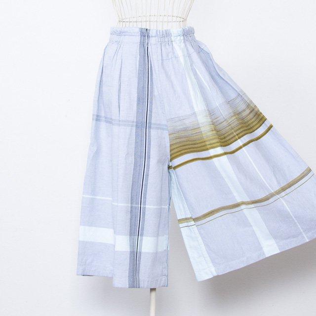 tamaki niime 玉木新雌 ワイドパンツ wide pants short 07 コットン 播州織
