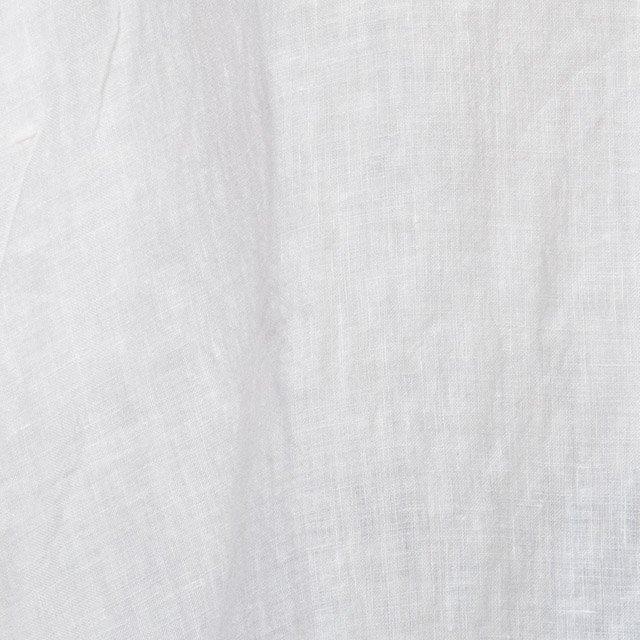 ヤンマ産業 リネンバックギャザーブラウス スノーホワイト LBG-SH-HS-SW