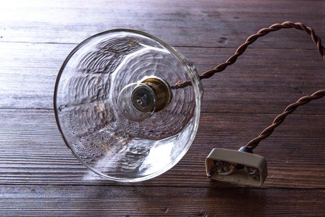 安土草多 吹きガラス ペンダントライト 十二角傘 az-l21