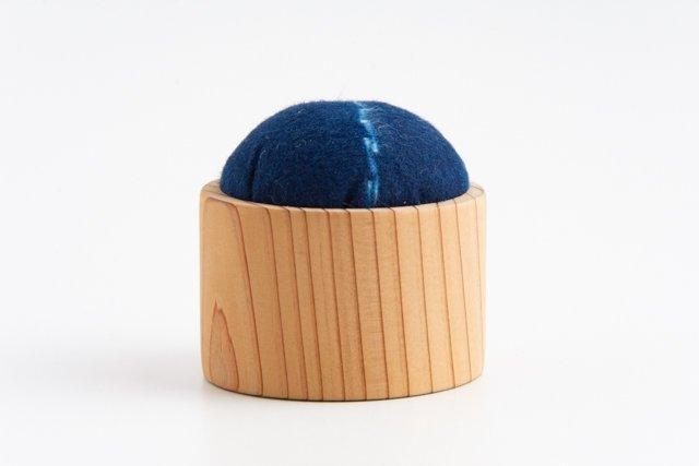 渡辺洋美 藍染の針山03