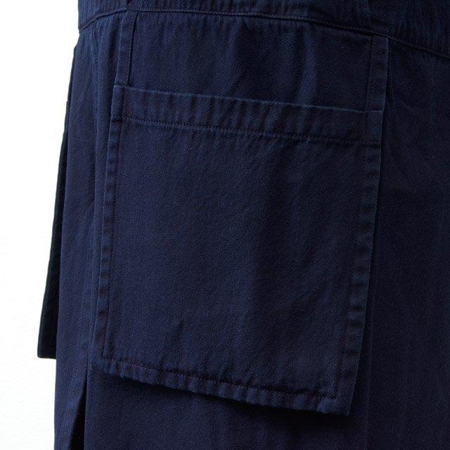 COTTLE エプロンワンピース03 本藍
