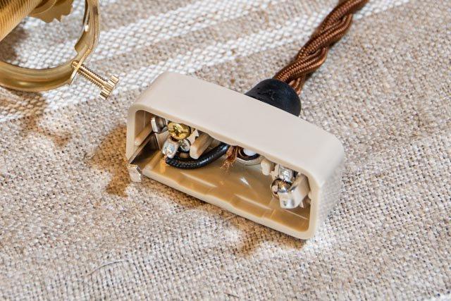 安土草多 吹きガラス ペンダントライト E26 釣り鐘 真鍮金具 AZ-LBB