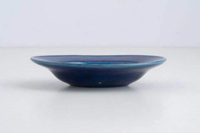 Awabi ware 楕円小皿