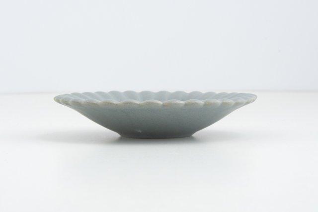 Awabi ware 菊小皿