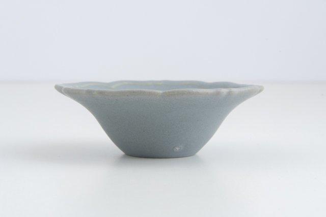Awabi ware 輪花小鉢