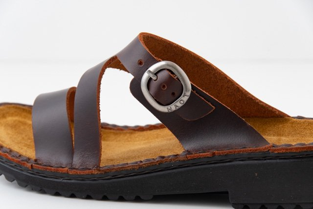 NAOT GENEVA ジェネバ サンダル Buffalo Leather(赤茶)
