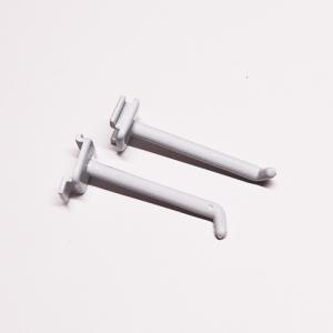 DP-004 ストッパー付フック<br />(L1:53mm×L2:25mm、適応穴11.8mm×18.8mm )<br />12個セット