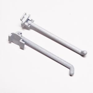 DP-005 折りたたみ式フック<br />(L1:80mm×L2:2.5mm、適応穴11.8mm×18.8mm)<br />8個セット