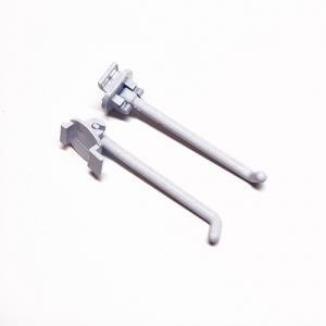 DP-006 折りたたみ式フック<br />(L1:60mm×L2:2.5mm、適応穴11.8mm×18.8mm、適応棚22mm×60mm)<br />10個セット