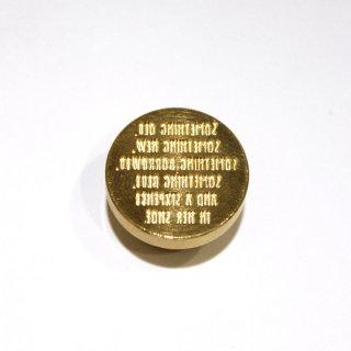 シーリングワックス スタンプ 20mm マザーグースの言葉Something Four