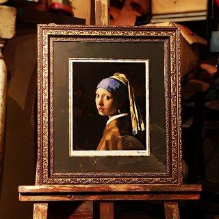 フェルメール 青いターバンの少女
