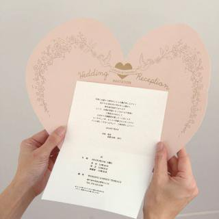 《THE LETTERS》LETTERPRESS INVITATION LoveCollection 〜Love[愛]〜 70名様用