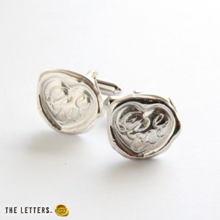 《THE LETTERS》CUFFBUTTON Love[愛] 〜真実の愛〜 silver