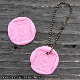 《THE LETTERS》WAXSEAL&STRAP 〜BabyPink〜