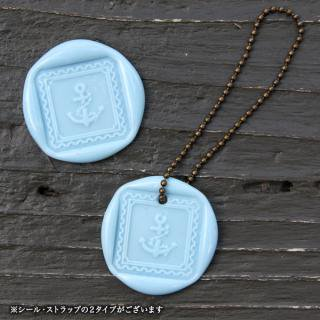 《THE LETTERS》WAXSEAL&STRAP 〜BabyBlue〜
