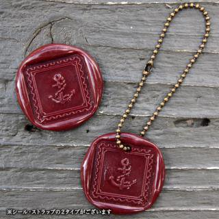 《THE LETTERS》WAXSEAL&STRAP 〜Burgandy〜