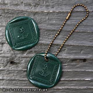 《THE LETTERS》WAXSEAL&STRAP 〜DarkGreen〜