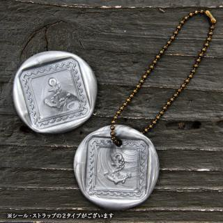 《THE LETTERS》WAXSEAL&STRAP 〜Silver 〜