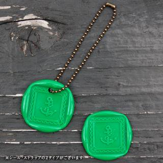 《THE LETTERS》WAXSEAL&STRAP 〜Green 〜