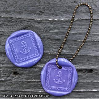 《THE LETTERS》WAXSEAL&STRAP 〜 Purple 〜