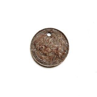 《Wax Seal Jewelry》オリジナル赤錆メッキ トップ フランスのコイン