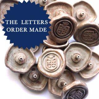 《Order Made》15mm円オーダーメイドシーリング&金具セット 赤錆メッキ 100個より製作します
