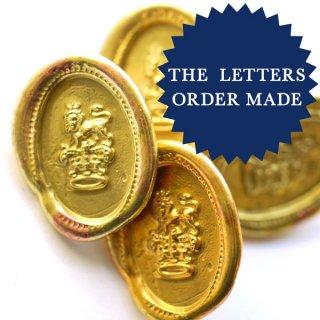 《Order Made》オーバルシーリングワックス&金具 50個より製作します