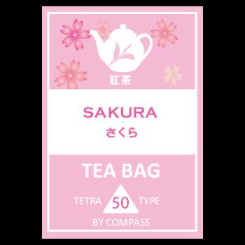 ティーバッグ さくら紅茶 50個入り
