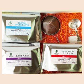 リーフ3種&紅茶雑貨ギフト