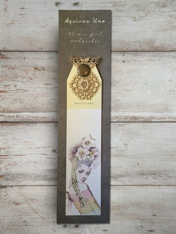 Flower Girl Bookmarker《スイセン》
