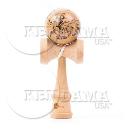 KENDAMA USA-カスタム サワーマッシュ マスターイラストシリーズ #24-Honey Hungry