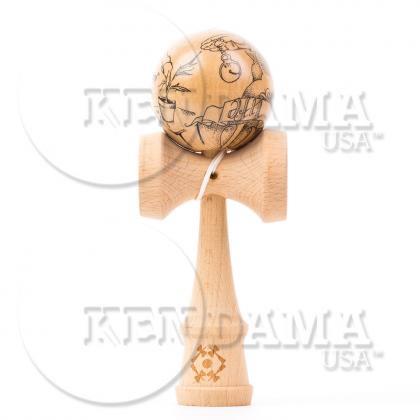 KENDAMA USA-カスタム サワーマッシュ マスターイラストシリーズ #31-Gold Life Grandpa