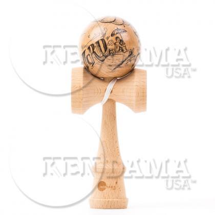 KENDAMA USA-カスタム サワーマッシュ マスターイラストシリーズ #33-Wold to your Mothership