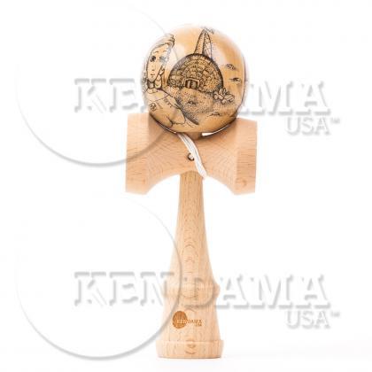 KENDAMA USA-カスタム サワーマッシュ マスターイラストシリーズ #38-Ground Control