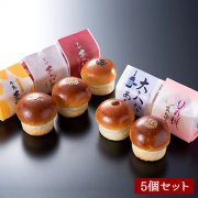 [初夏限定]平井製菓のあんパン食べ比べセット(5種類/5個入り)