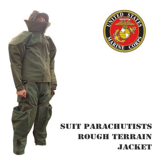 US PARACHUTISTS SUIT ROUH TERRAIN JAKCET&PANTS SET (アメリカ海兵隊パラシュートスーツ/ラフテレーンジャケット&パンツセット)送料…