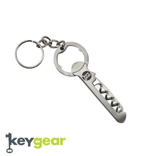 キーギア【KEYGEAR】KEY MULTI TOOL/SILVER/KEY HOLDER(キーマルチツール/万能ツール/シルバー/キーホルダー)50-KEY0044-…