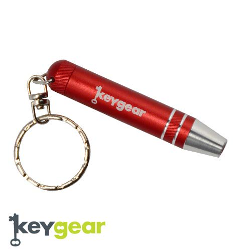 キーギア【KEYGEAR】SCREW DRIVER SET/RED/KEY HOLDER(スクリュードライバーセット/レッド/キーホルダー)50-KEY0058-…