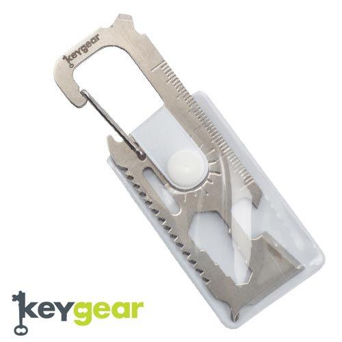 キーギア【KEYGEAR】SUVIVAL MULTI TOOL/SLIVER/KEY HOLDER(サバイバルマルチツール/シルバー/キーホルダー)50-KEY0065-…