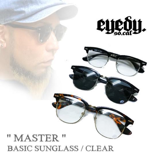 アイディー【EYEDY 】BASIC SUNGLASS MASTER/CLUBMASTER(レイバン/メガネ/クリアサングラス/べっ甲/伊達眼鏡/クラブマスタ…