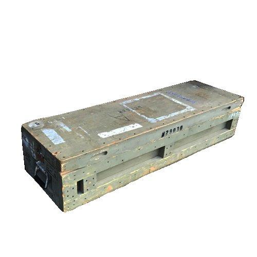 US M16 RIFLE WOOD BOX MFG BY ARBO BOX...