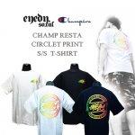 アイディー/EYEDY/チャンピオン/CHAMPION/CHAMP RASTA CIRCLET PRINT S/S T-SHIRT(チャンプラスタシークレットTシャツ)