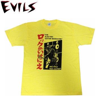EVILS ロックのいけにえ T-SHIRTS 【Tシャツ】