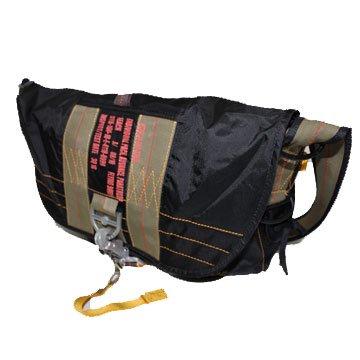 FRYING BODY PARACHUTE BAG・SERIES BAG(フライングボディーパラシュートバッグ/マセットバッグ) BLK