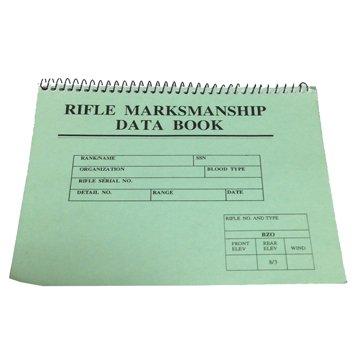 US RIFLE MARKSMAN SHIP DATA BOOK(ライフルデータブック)【放出品】